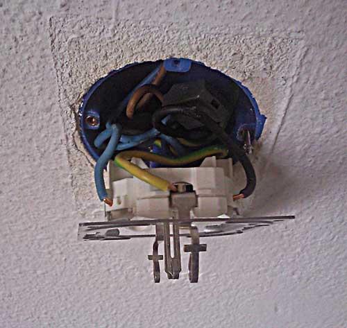 stopcontact draden